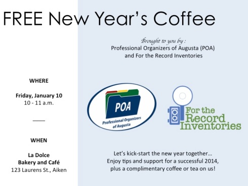 FREE New Year's Coffee